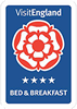 Visit England 4 Star Bed and Breakfast